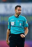 Nederland, Zwolle, 18 oktober 2015<br /> Eredivisie<br /> Seizoen 2015-2016<br /> PEC Zwolle-Vitesse<br /> Scheidsrechter Pol van Boekel
