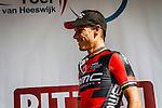 Phillipe GILBERT (BEL, BMC) on the podium, Stage 4 Hotel Verviers - La Gileppe (Jalhay), België, Ster ZLM Toer, Gileppe Belgium, 21th June 2014, Photo by Thomas van Bracht / Peloton Photos