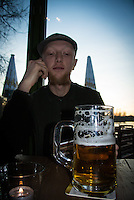 A trip to K&ouml;pernik near Berlin, with Paul<br /> Beer time
