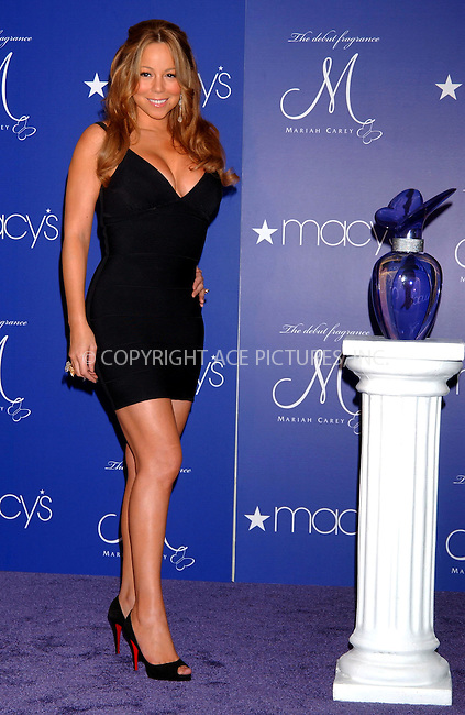 WWW.ACEPIXS.COM . . . . . ....October 23 2007, New York City....Recording artist Mariah Carey launched her debut fragrance 'M by Mariah Carey' at Macy's department store in midtown Manhattan. ....Please byline: KRISTIN CALLAHAN - ACEPIXS.COM.. . . . . . ..Ace Pictures, Inc:  ..(646) 769 0430..e-mail: info@acepixs.com..web: http://www.acepixs.com