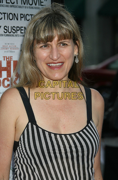 CATHERINE HARDWICKE.'The Hurt Locker' Los Angeles Premiere held at the Egyptian Theatre, Hollywood, CA, USA..June 5th, 2009.headshot portrait black white striped stripes top.CAP/ADM/MJ.©Michael Jade/AdMedia/Capital Pictures.