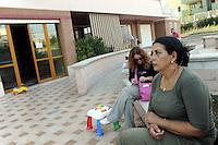 ROMA, OTTOBRE 2009.CASA, OCCUPAZIONE VIA VOLONTE' .BPM.FOTO SIMONA GRANATI