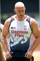 Rugby League World Cup. Chris Hill during England captain's run. Brisbane, Australia. 28 Nov 2017. Copyright photo: Patrick Hamilton / www.photosport.nz MANDATORY CREDIT/BYLINE : Patrick Hamilton/SWpix.com/PhotosportNZ