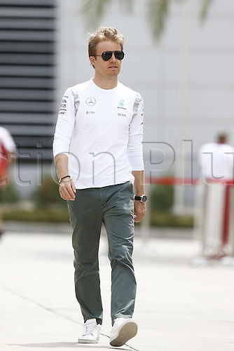 01.04.2016. Bahrain. FIA Formula One World Championship 2016, Grand Prix of Bahrain, Practise day. 6 Nico Rosberg (GER, Mercedes AMG Petronas Formula One Team)