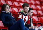 Sheffield Utd fans for fans gallery during the Sky Bet League One match at Bramall Lane Stadium. Photo credit should read: Simon Bellis/Sportimage