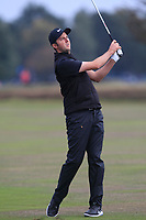 Ashley Chesters (ENG) on the 12th fairway during Round 1of the Sky Sports British Masters at Walton Heath Golf Club in Tadworth, Surrey, England on Thursday 11th Oct 2018.<br /> Picture:  Thos Caffrey | Golffile<br /> <br /> All photo usage must carry mandatory copyright credit (© Golffile | Thos Caffrey)