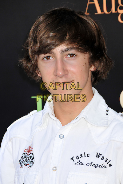 "VINCENT MARTELLA.""Julie & Julia"" Los Angeles Premiere held at Mann's Village Theatre, Westwood, CA, USA..July 27th, 2009.headshot portrait white .CAP/ADM/BP.©Byron Purvis/AdMedia/Capital Pictures."