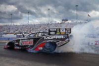 Sep 15, 2013; Charlotte, NC, USA; NHRA funny car driver Matt Hagan during the Carolina Nationals at zMax Dragway. Mandatory Credit: Mark J. Rebilas-