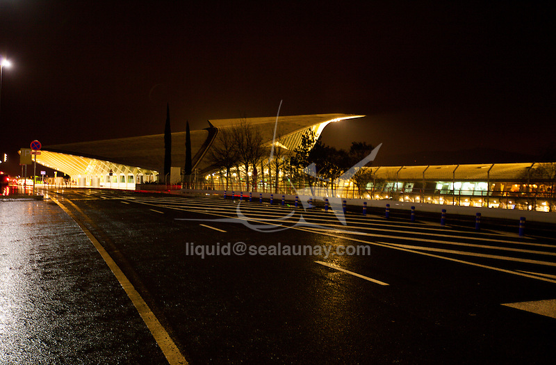 Bilbao Airport.<br /> Bilbao is a municipality and city in Spain in the province of Biscay in the autonomous community of the Basque Country.
