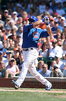 Chicago Cubs third baseman Aramis Ramirez during a game against the New York Mets at Wrigley Field on July 15, 2006 in Chicago, Illinois.  (Mike Janes/Four Seam Images)