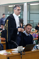 Eugenio Pini, Francesco Tedesco's lawyer<br /> Rome October 29th 2019. Process 'Cucchi bis'. Stefano Cucchi, a 30 years old man, was arrested on October 15 2009 for drug possession, and after being convicted in Regina Coeli jail for few days, he was transferred to Sandro Pertini hospital, where he died on October 22 2009 due to be strongly beaten. On his body were found many signs of abuse and violence. The defendants are 5 carabineers. <br /> Foto  Samantha Zucchi Insidefoto
