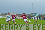 Dromid on the attack again with Eoin O'Leary in space as he has this chance for a point.