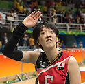 Yurie Nabeya (JPN),<br /> AUGUST 8, 2016 - Volleyball : <br /> Women's Preliminary Pool A <br /> between Japan 3-0 Cameroon <br /> at Maracanazinho <br /> during the Rio 2016 Olympic Games in Rio de Janeiro, Brazil.<br /> (Photo by Enrico Calderoni/AFLO SPORT)