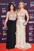 Bianca Westwood and Hayley McQueen<br /> at the BT Sport Industry Awards 2017 at Battersea Evolution, London. <br /> <br /> <br /> ©Ash Knotek  D3259  27/04/2017
