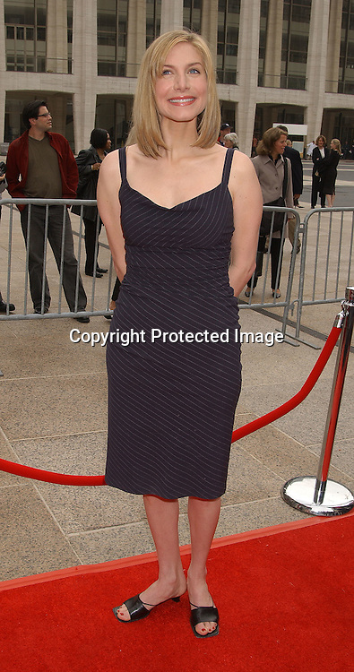 Elizabeth Mitchell in Diane von Furstenberg                                      ..at the NBC Upfront announcement of their new shows ..on May 12,2003 at the Metropolitan Opera House ...Photo by Robin Platzer, Twin Images