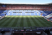 4th July 2020; Lyon, France; French League 1 friendly due to the Covid-19 pandemic forced league ending;  Le stade a huis empty due to the covid-19 pandemic