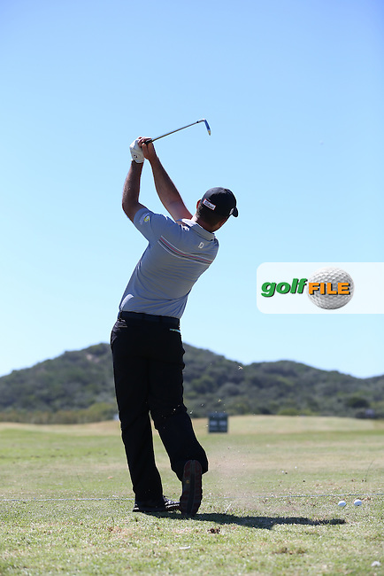 Ricardo Santos (POR) on the driving range ahead of the Africa Open 2015 at the East London Golf Club, East London, Eastern Cape, South Africa. Picture:  David Lloyd / www.golffile.ie. 03/03/2015