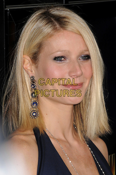 "GWYNETH PALTROW .""Iron Man"" Los Angeles Premiere at Grauman's Chinese Theatre, Hollywood, California, USA,.30 April 2008..portrait headshot dangly earrings sparkly .CAP/ADM/BP.©Byron Purvis/Admedia/Capital PIctures"
