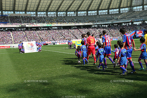 General view, MARCH 9, 2013 - Football / Soccer : 2013 J.LEAGUE Division 1 match between FC Tokyo 3-0 Kashiwa Reysol at Ajinomoto Stadium, Tokyo, Japan. (Photo by AFLO SPORT) [1156]