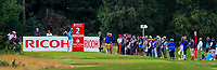 Jessica Korda (USA) on the 2nd tee during Round 3 of the Ricoh Women's British Open at Royal Lytham &amp; St. Annes on Saturday 4th August 2018.<br /> Picture:  Thos Caffrey / Golffile<br /> <br /> All photo usage must carry mandatory copyright credit (&copy; Golffile | Thos Caffrey)