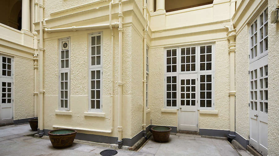 Small Courtyard In St Stephen's Girls' College In Lyttleton Road, Hong Kong Island.