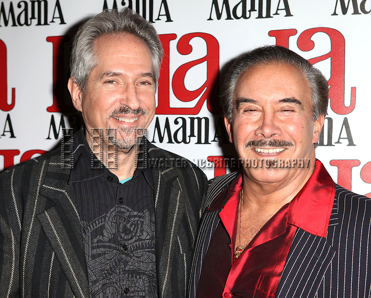 David Diamond & Frank Carucci attending the La Mama Celebrates 51 Gala Party at the Ellen Stewart Theatre in New York City on 2/27/2013
