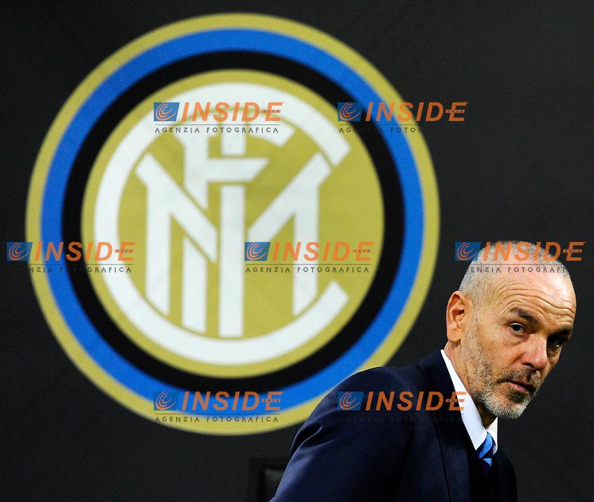 Stefano Pioli allenatore Inter coach<br /> Milano 8-12-2016 Stadio Giuseppe Meazza - Football Calcio Europa League Inter - Sparta Praga. Foto Giuseppe Celeste / Insidefoto