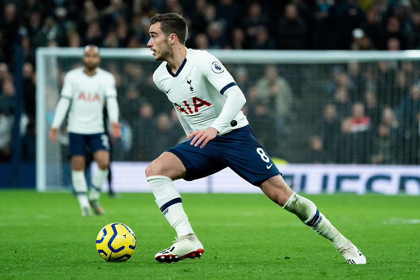 Tottenham's Harry Winks <br /> <br /> Photographer Stephanie Meek/CameraSport<br /> <br /> The Premier League - Tottenham Hotspur v Liverpool - Saturday 11th January 2020 - Tottenham Hotspur Stadium - London<br /> <br /> World Copyright © 2020 CameraSport. All rights reserved. 43 Linden Ave. Countesthorpe. Leicester. England. LE8 5PG - Tel: +44 (0) 116 277 4147 - admin@camerasport.com - www.camerasport.com