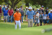 Rickie Fowler (USA) makes his way to the green on 8 during day 4 of the Valero Texas Open, at the TPC San Antonio Oaks Course, San Antonio, Texas, USA. 4/7/2019.<br /> Picture: Golffile | Ken Murray<br /> <br /> <br /> All photo usage must carry mandatory copyright credit (© Golffile | Ken Murray)
