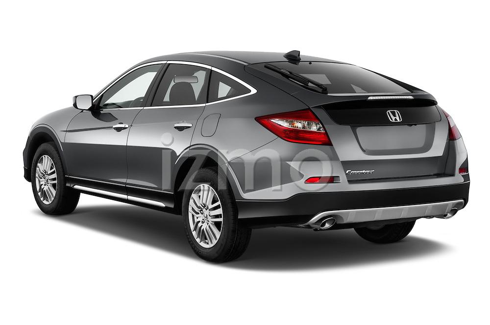 Car pictures of rear three quarter view of a 2015 Honda Crosstour EX 4 Door Hatchback Angular Rear