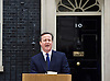 David Cameron travels to Buckingham Palace to inform the Queen of the dissolution of Parliament prior to the general election in May. <br />