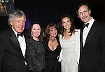 Bryan & Lindy Watson , Patti Lupone, Laura Benanti & Howard McGillin.attending the Signature Theatre Stephen Sondheim Award Gala reception honoring Patti Lupone at the Embassy of Italy in Washington D.C. on 4/16/2012.