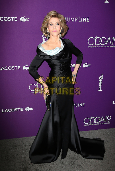 Beverly Hills, CA - February 21: Jane Fonda, At 19th CDGA (Costume Designers Guild Awards), At The Beverly Hilton Hotel In California on February 21, 2017. <br /> CAP/MPI/FS<br /> &copy;FS/MPI/Capital Pictures