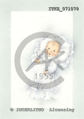Isabella, BABIES, paintings, ITKE071078,#b# bébé, illustrations, pinturas ,everyday