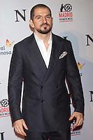 """ATENCAO EDITOR IMAGEM EMBARGADA PARA VEICULOS INTERNACIONAIS - MADRI, ESPANHA, 20 NOVEMBRO 2012 - PRE ESTREIA FIN - O diretor Jorge Terregossa, durante pre estreia de """"FIN"""" no Callao Cinema em Madri capital da Espanha nesta terca-feira, 20. (FOTO: CESAR CEBOLA / ALFAQUI / BRAZIL PHOTO PRESS)."""