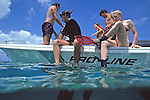 Getting On Boat