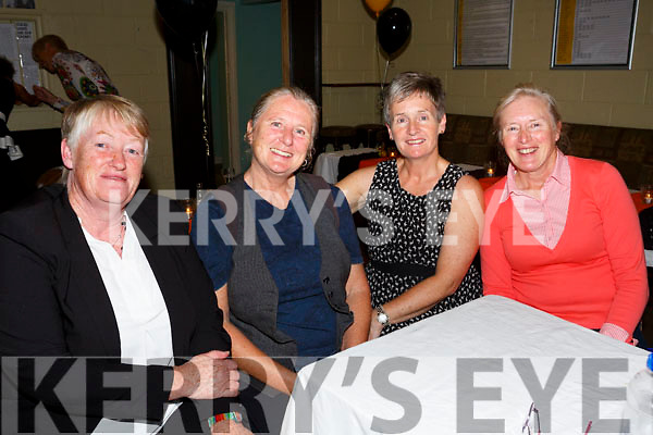 Austin Stacks Ladies celebrate the 40th anniversary of their 1st Senior County Championship win in 1977 at Austin Stacks Clubhouse on Saturday. Pictured Ann Egar, Deb Courtney, representing Mary Courtney, Adrianne Mcloughlin, representing Del White, Breda O'Donnell