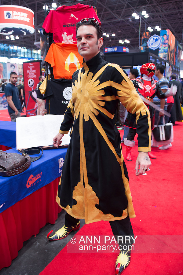 RAJIVE ANAND, from NYC, is Laserman at the 10th Annual New York Comic Con. NYCC 2015 is expected to be the biggest one ever, with over 150,000 attending during the 4 day ReedPOP event, from October 8 through Oct 11, at Javits Center in Manhattan