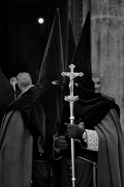 Semana Santa (Holy Week), Valladolid, Spain. (please see gallery description).