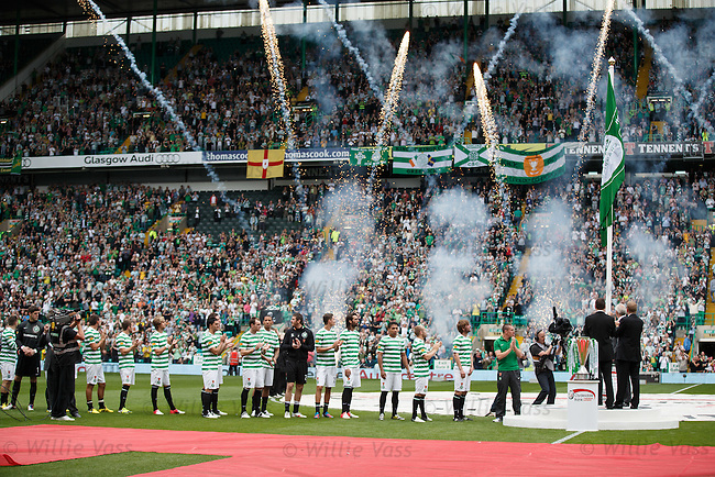 Celtic unfurl the SPL flag