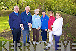 Seamus Roche, Dennis Flaherty, Nuala Ahern, Anne Hannon, Breda Kennelly and Ursla Enright getting ready for a countryside walk in Moyvane last Sunday as part of National Trail Day.