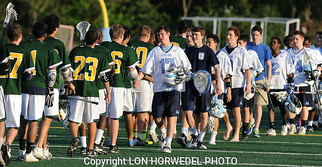 Skyline vs Huron boy's lacrosse at Skyline High School, 5-16-13
