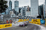 Sam Bird of DS Virgin Racing team during the first stop of the FIA Formula E Championship HKT Hong Kong ePrix at the Central Harbourfront Circuit on 9 October 2016, in Hong Kong, China. Photo by Victor Fraile / Power Sport Images