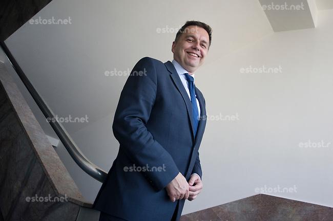 SLOWAKEI, 04.2017, Bratislava. Finanzminister Peter Kazimir an seinem Amtssitz.   Finance minister Peter Kazimir at his office.<br /> &copy; Martin Fejer/EST&amp;OST