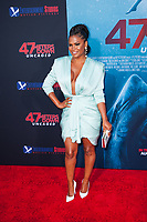 Los Angeles, CA - AUGUST 13th: <br /> Nia Long attends the 47 Meters Down: Uncaged premiere at the Regency Village Theater on August 13th 2019. Credit: Tony Forte/MediaPunch