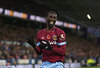 West Ham United's Pedro Obiang after going close with a header <br /> <br /> Photographer Rob Newell/CameraSport<br /> <br /> The Premier League - Huddersfield Town v West Ham United - Saturday 10th November 2018 - John Smith's Stadium - Huddersfield<br /> <br /> World Copyright © 2018 CameraSport. All rights reserved. 43 Linden Ave. Countesthorpe. Leicester. England. LE8 5PG - Tel: +44 (0) 116 277 4147 - admin@camerasport.com - www.camerasport.com