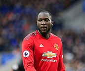 3rd February 2019, King Power Stadium, Leicester, England; EPL Premier League Football, Leicester City versus Manchester United; Romelu Lukaku of Manchester United