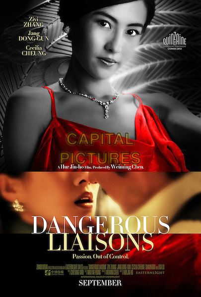 AMERICAN POSTER ART.in Dangerous Liaisons (2012) .*Filmstill - Editorial Use Only*.CAP/FB.Supplied by Capital Pictures.
