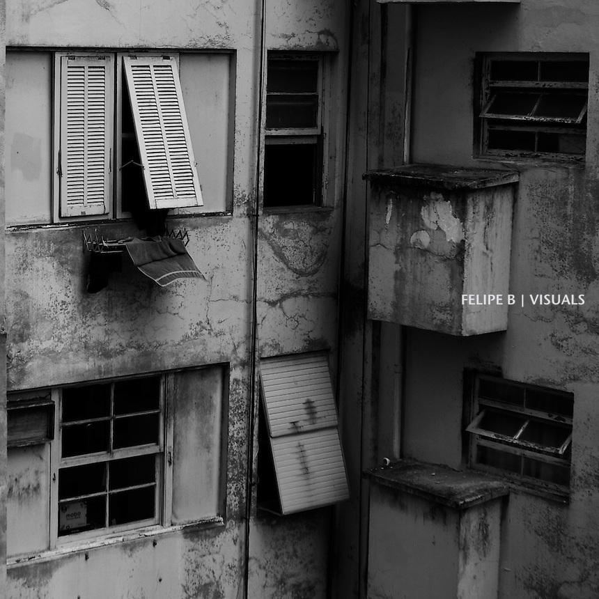 janelas esquecidas em Copacabana