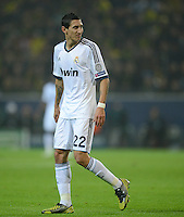FUSSBALL   CHAMPIONS LEAGUE   SAISON 2012/2013   GRUPPENPHASE   Borussia Dortmund - Real Madrid                                 24.10.2012 Angel Di Maria (Real Madrid)